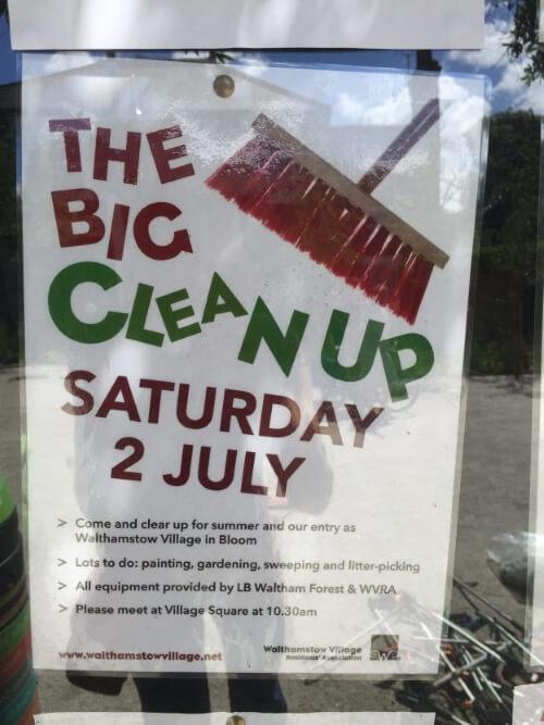 big cleanup