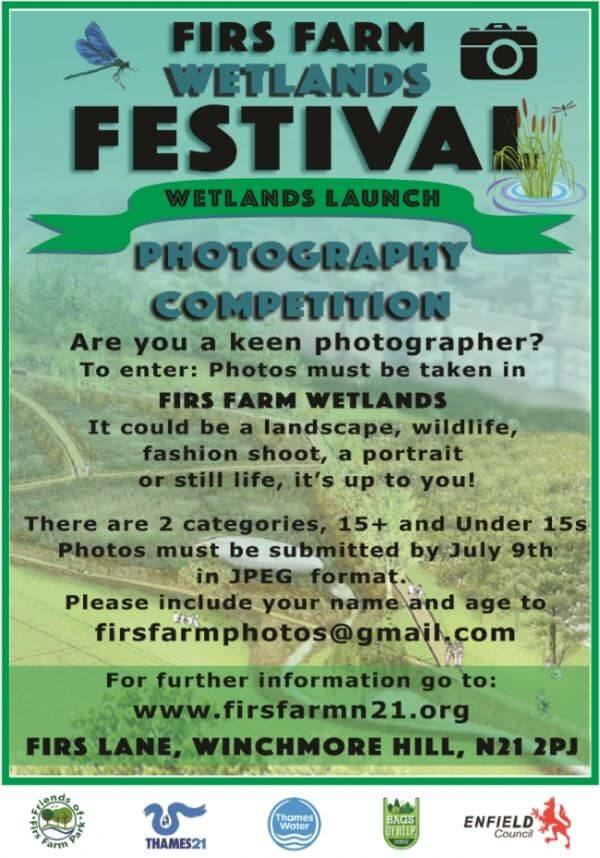 Firs Farm Wetlands Festival - Photographic Competition