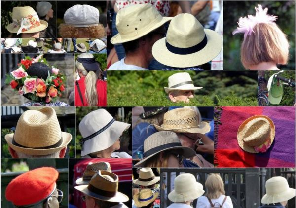 hats at broomfield blues 14 august 2016