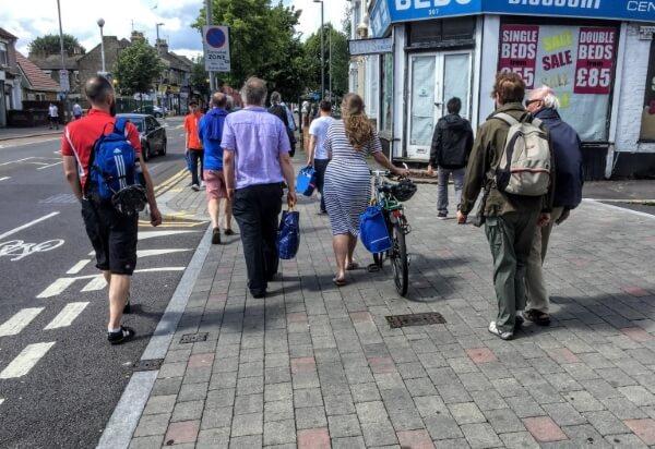 hoe street copenhagen crossing
