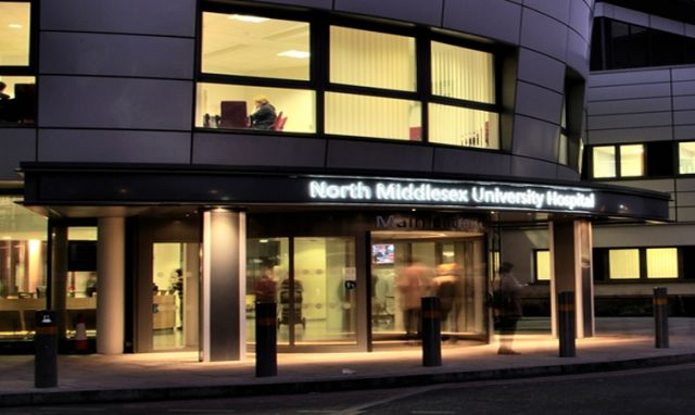 Current arrangements at the North Middlesex Hospital