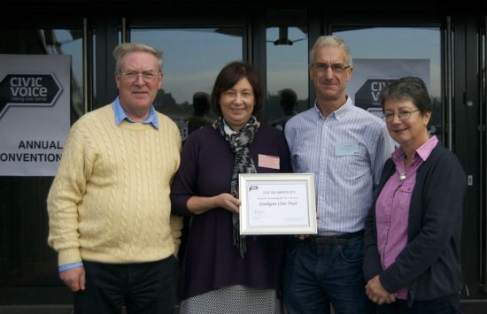 "Civic Trust receives award for ""outstanding effort"""