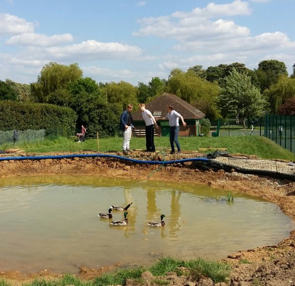Come and check out the new Wildlife Pond...