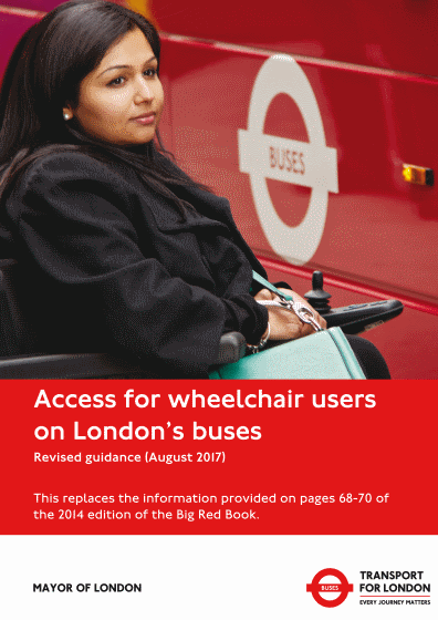 access for wheelchair users on londons buses