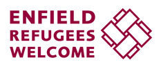enfield refugee welcome logo