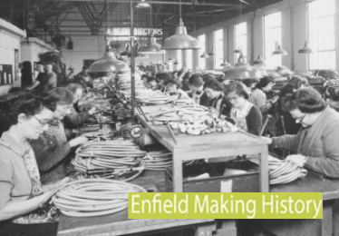 enfield making history