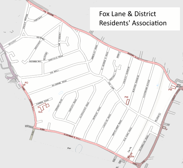 fldra area map
