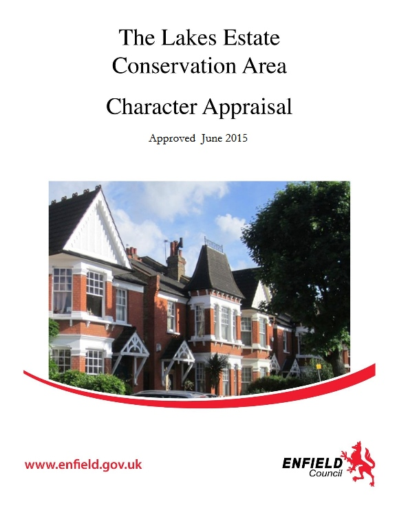 lakes estate conservation area appraisal cover