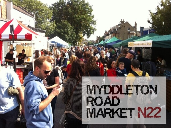 myddleton road market attendees