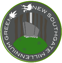 new southgate millenium green logo