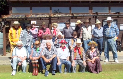 wild west day at selborne bowling club 001
