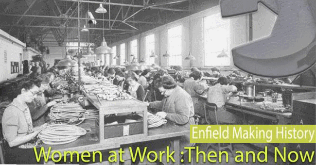 women at work then and now