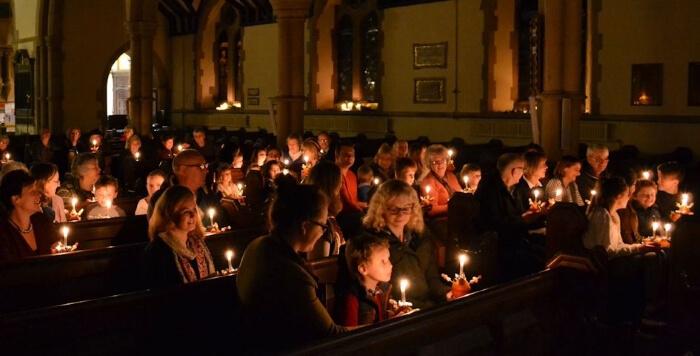Christingle Service All Saints Southgate Green