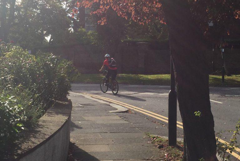 bourne hill cyclist