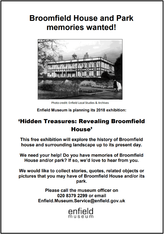 broomfield house memories wanted