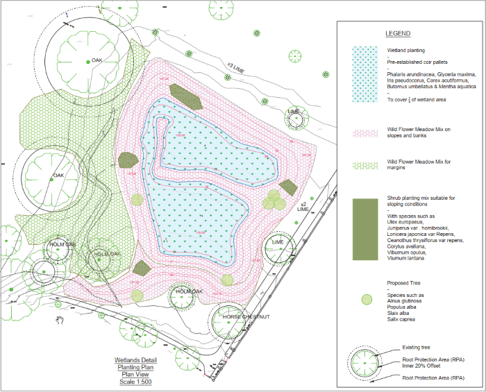 broomfield park wetlands plan