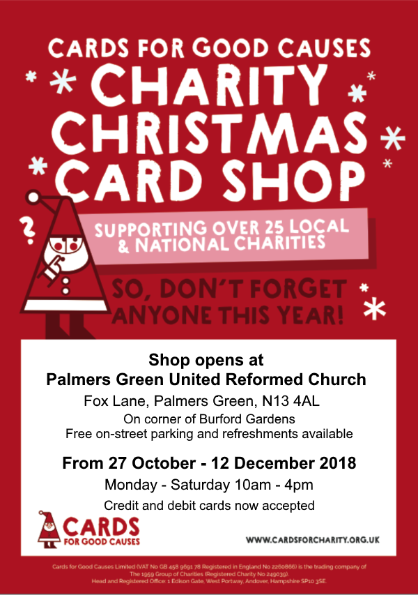 christmas card shop dec 2018
