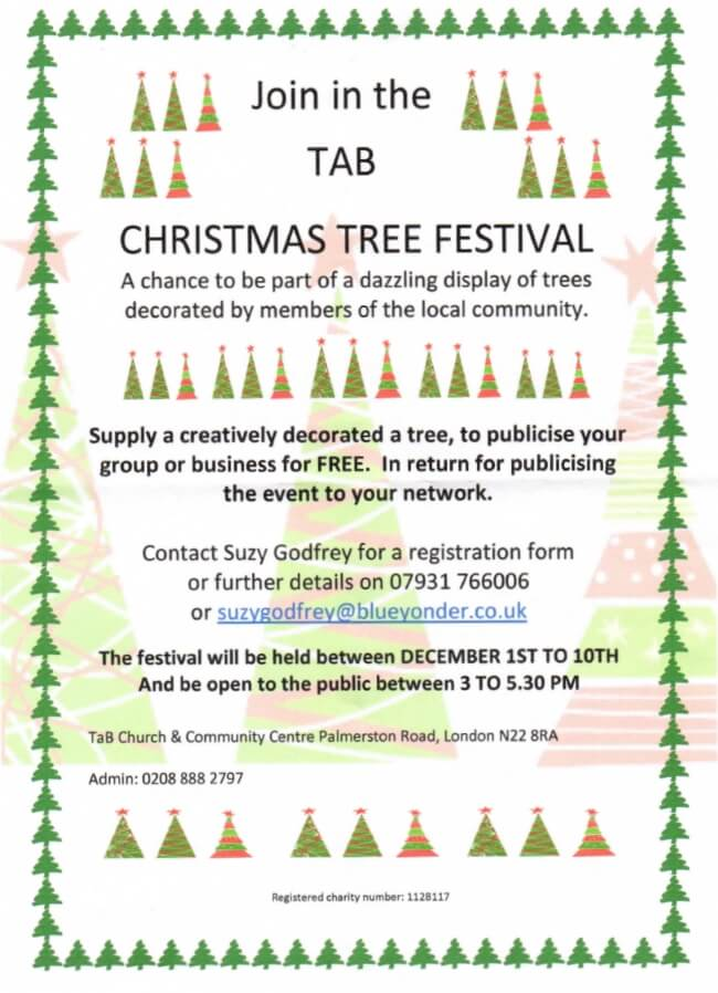 TAB christmas tree festival