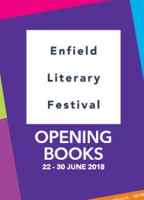 enfield literary festival 2018 advert
