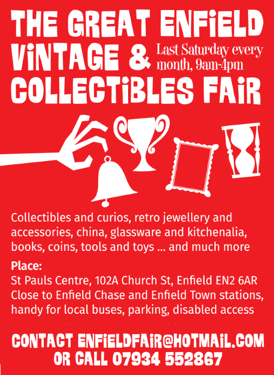 enfield vintage fair dec2018