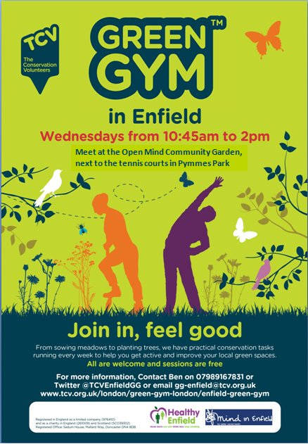 green gym in enfield