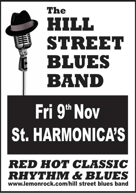 hill st blues band nov 2018