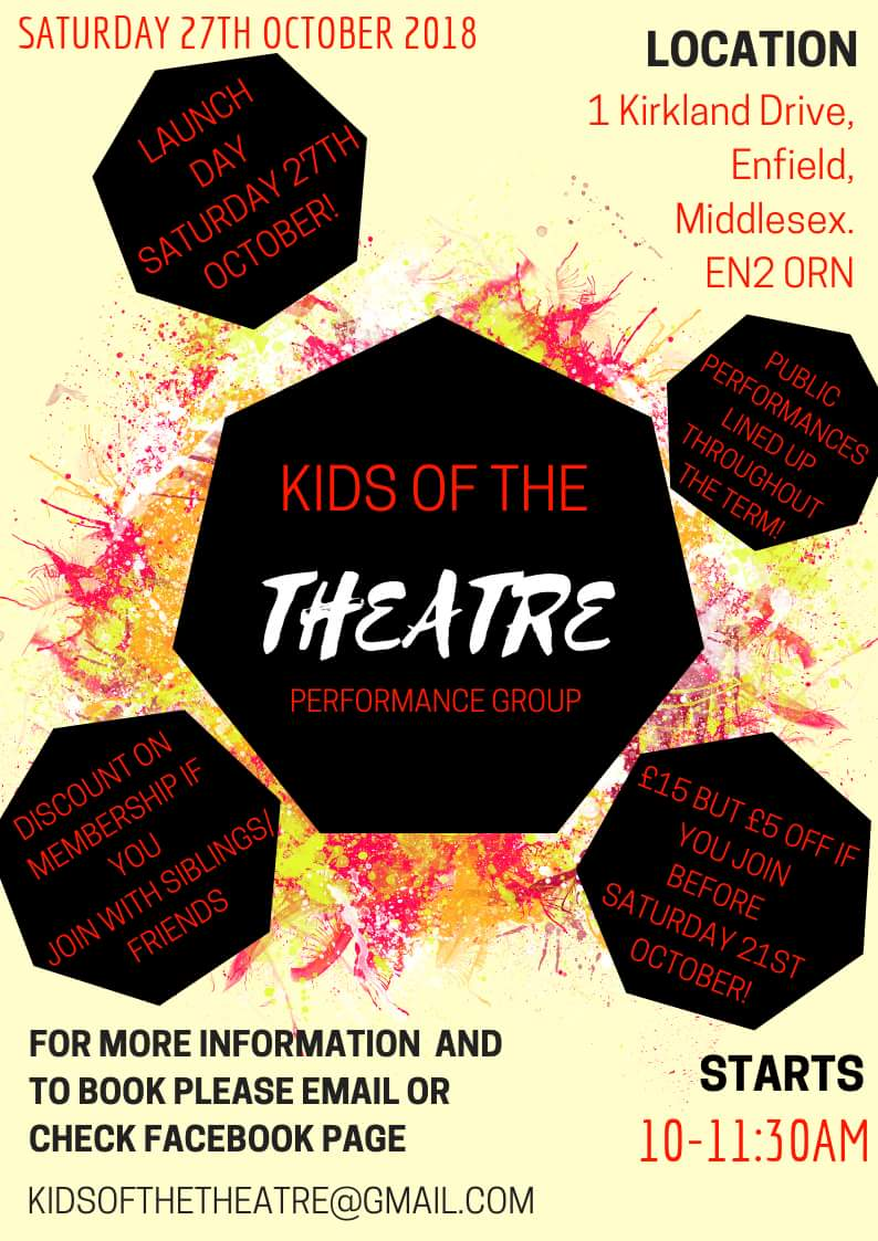 kids of the theatre oct2018