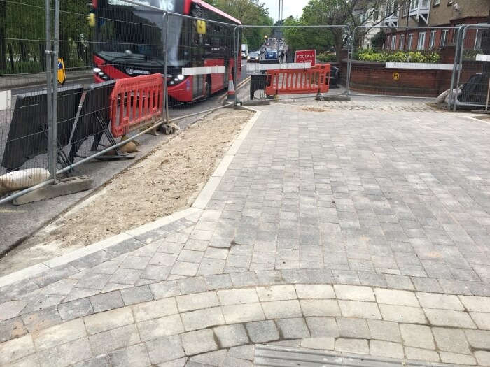 lakeside road continuous pavement 1