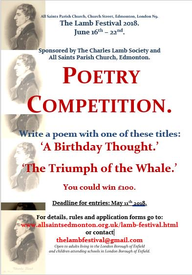 lamb festival poetry competition