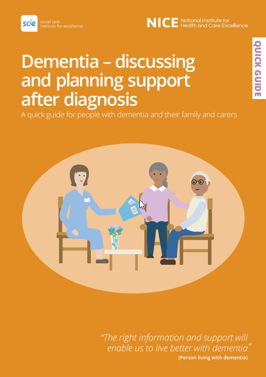 nice dementia guide