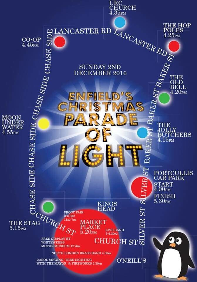 parade of light dec 2018