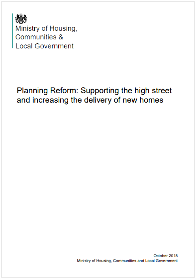 planning reform consultation