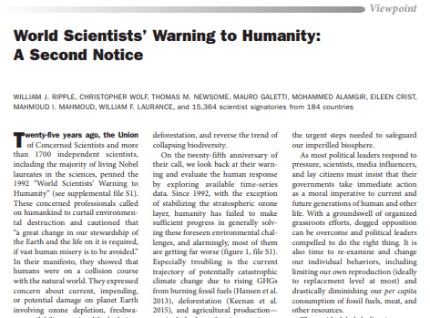 scientists warning to humanity cropped