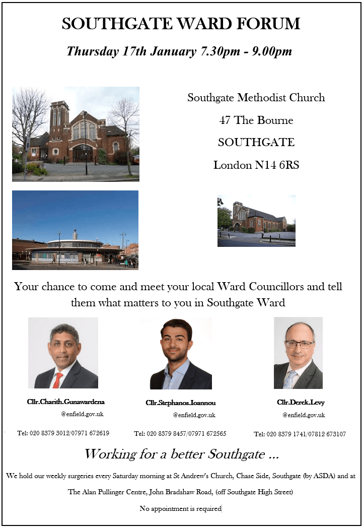 southgate ward forum jan 2019