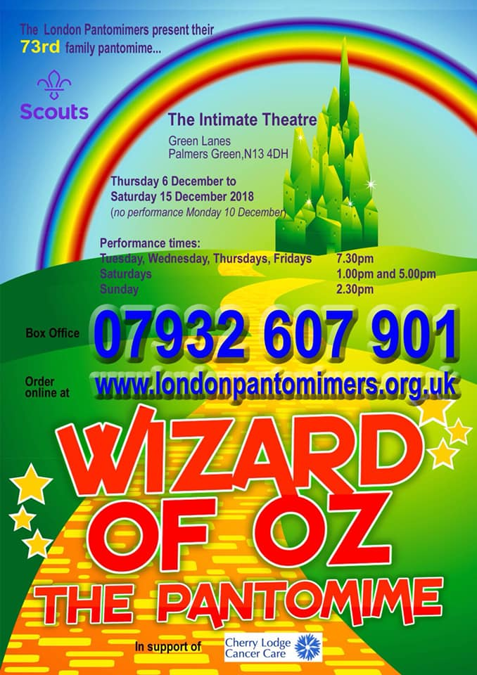 wizard of oz dec 2018