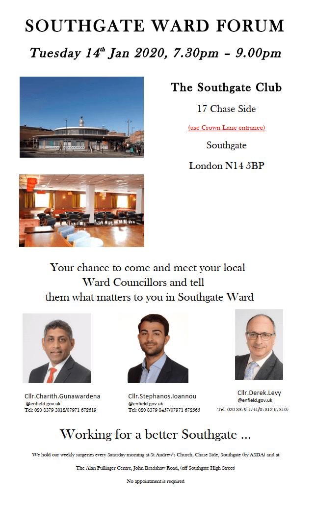 202001 southgate ward forum