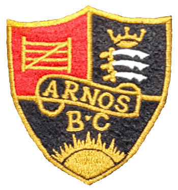 arnos bowling club badge