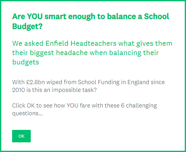 Are YOU smart enough to balance a school budget?