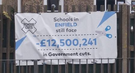 banner outside hazelwood school cropped2