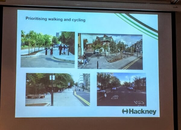 filtered streets in hackney
