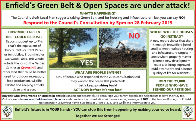 green belt under attack