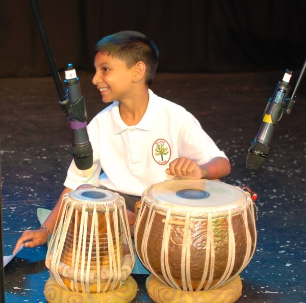 Primary school children come together to showcase their talents