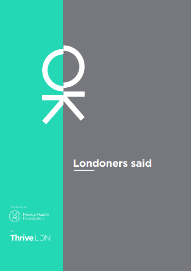 londoners said report cover