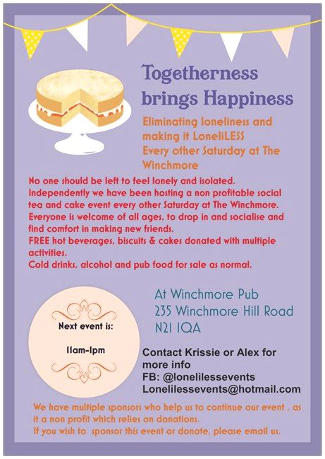 togetherness brings happiness at the winchmore