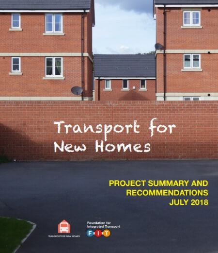 transport for new homes cover