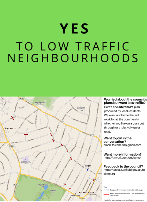 yes to low traffic neighbourhoods both sides 500px