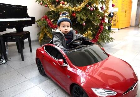 Tesla donation December 2019