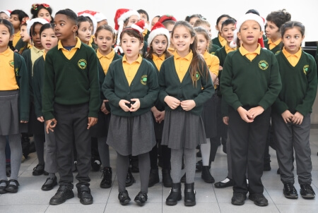 010 Oakthorpe Primary school choir December 2019