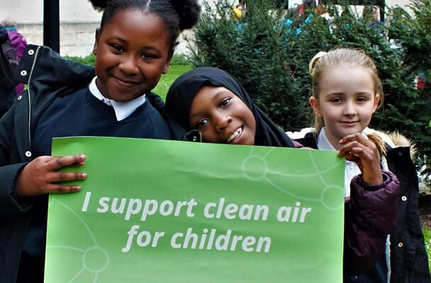 poster or flyer advertising event Clean Air Parents\' Network Webinar: London's air pollution, why it matters and what can we all do about it?