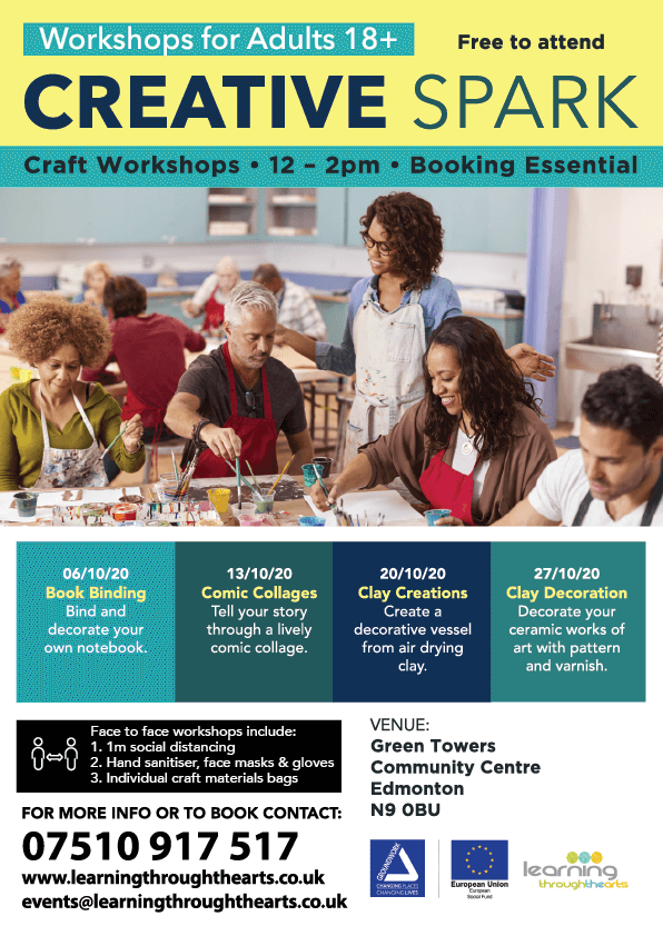 202010 creative spark craft workshops